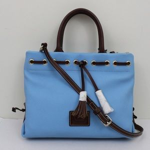 Dooney Bourke Carribean Leather Tassel Tote Bag